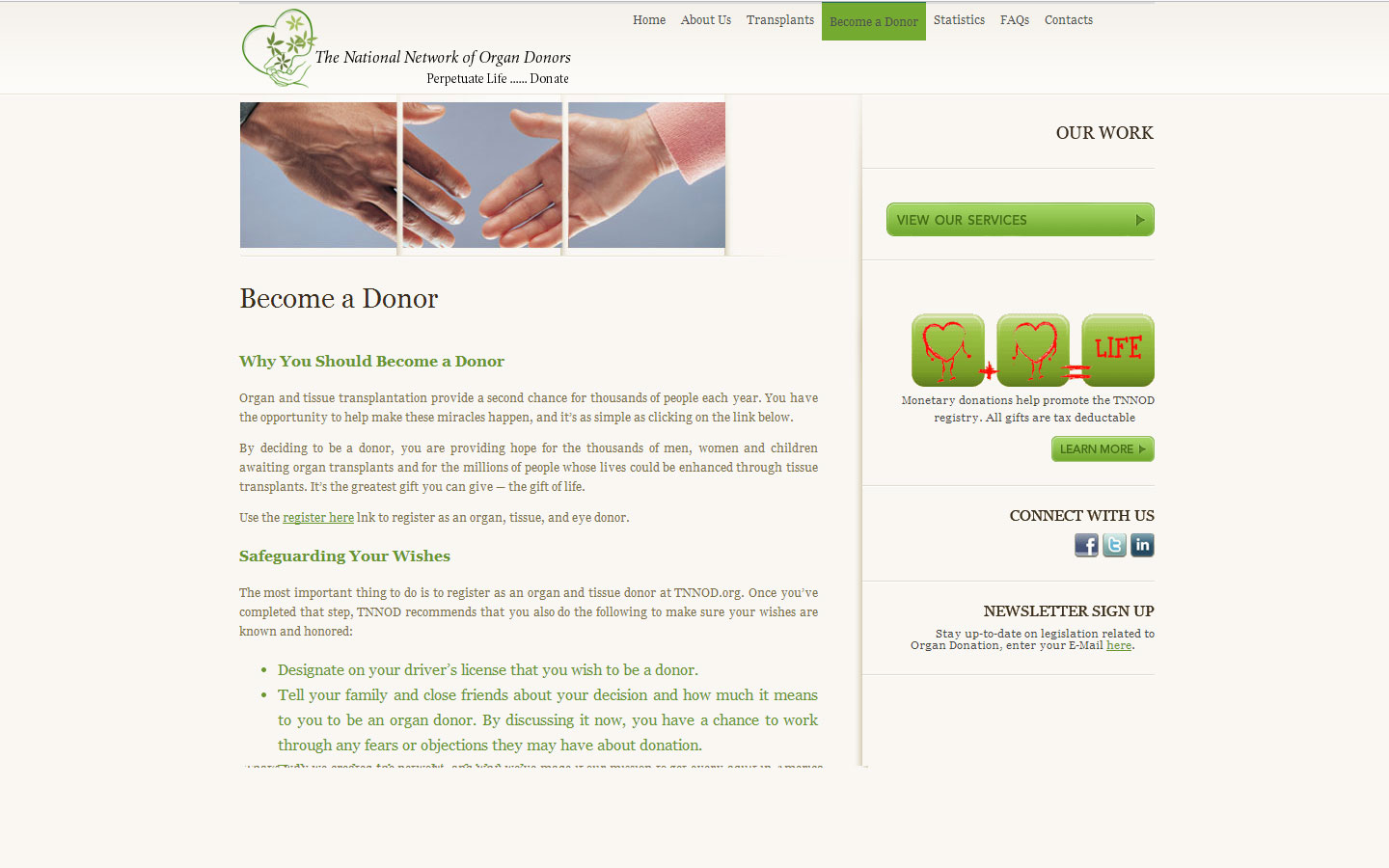 The National Network of Organ Donors