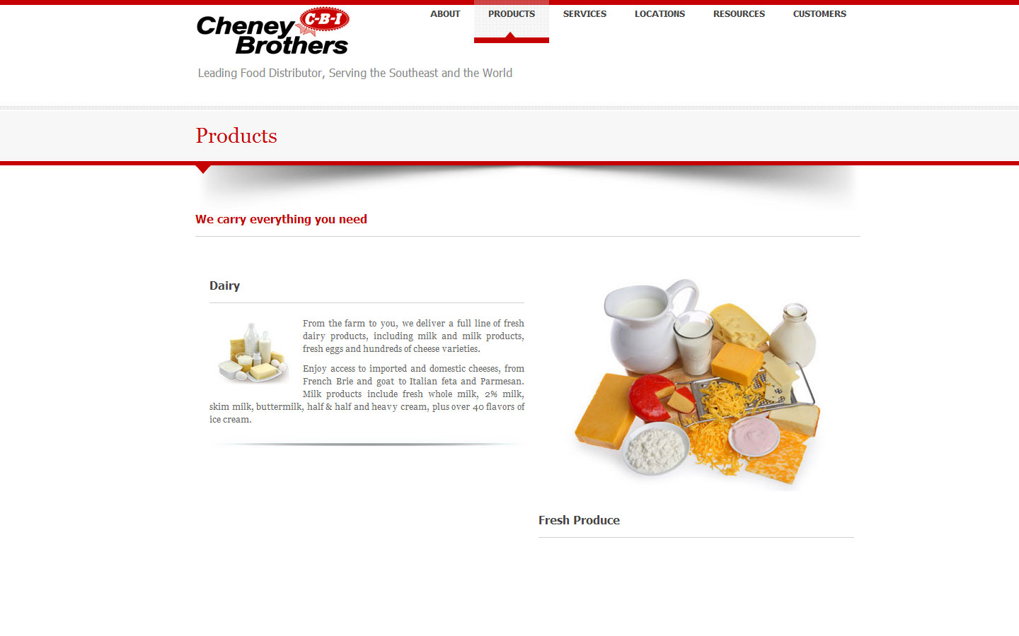 Cheney Brother, Inc.
